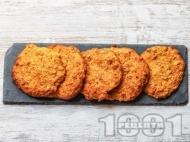 Овесени бисквити с моркови, канела и кленов сироп